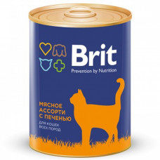 Brit Premium Beef and Liver Medley 340г