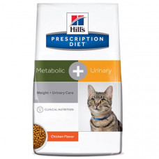 Prescription Diet™ Metabolic + Urinary Feline 1,5кг