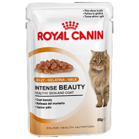 Royal Canin Intense Beauty в желе. 85 гр
