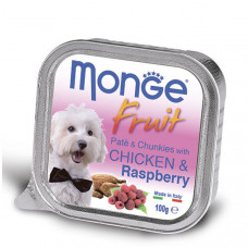 Monge Dog Fruit курица с малиной 100 г