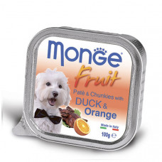 Monge Dog Fruit утка с апельсином 100 г