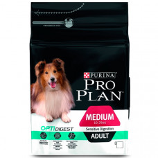 Pro Plan medium Adult Sensitive Digestion 14кг ягненок рис