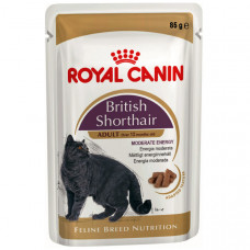 Royal Canin British Shorthair.  85 г